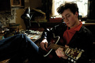 Aaron Johnson as the young John Lennon in the film Nowhere Boy